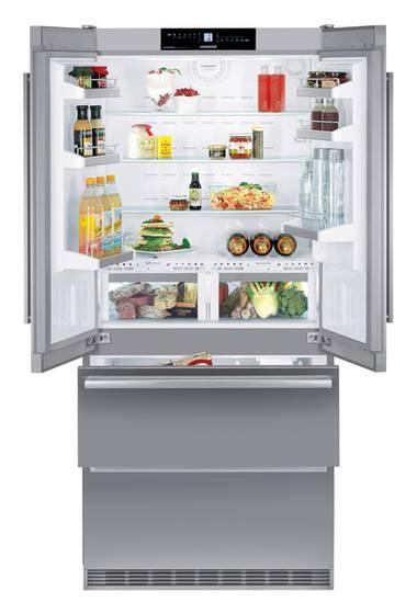 side by side køleskab